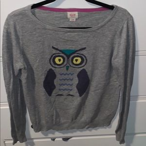 Mossimo Owl 🦉 women sweater size M